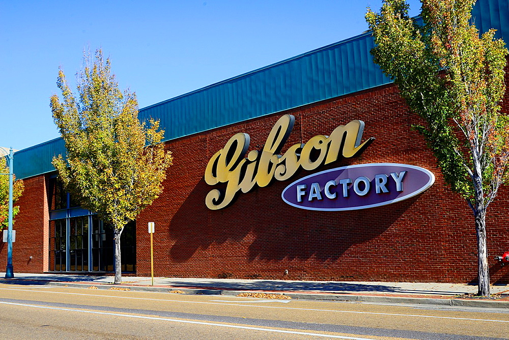 Gibson Guitar Factory Store Memphis Tennessee TN