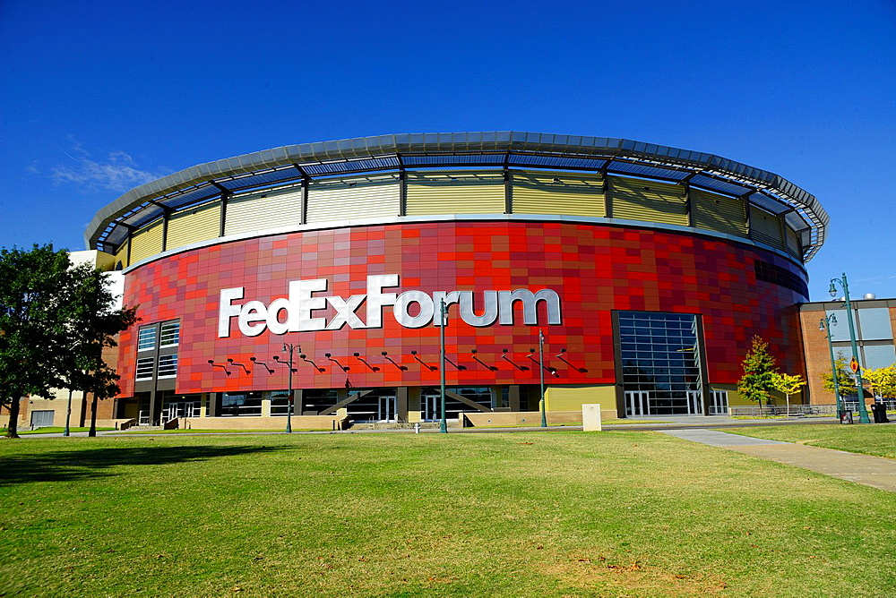 Fed-Ex Forum Memphis Tennessee TN