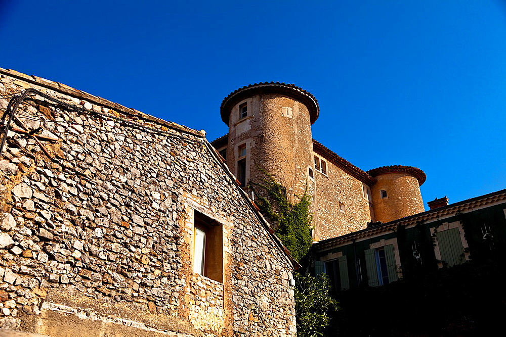 Castle of Rustrel, Provence, France, Europe