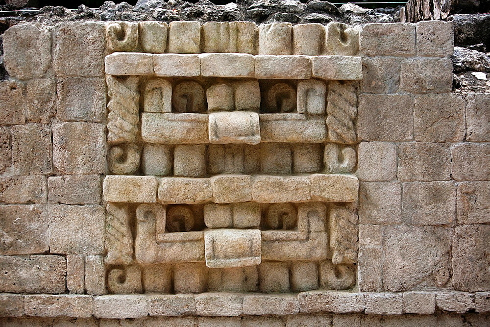Archeological site Balamku, Yucatan Peninsula, Campeche, Mexico