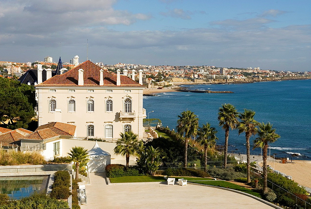 Mansion in Cascais, around Lisbon, Portugal, Europe