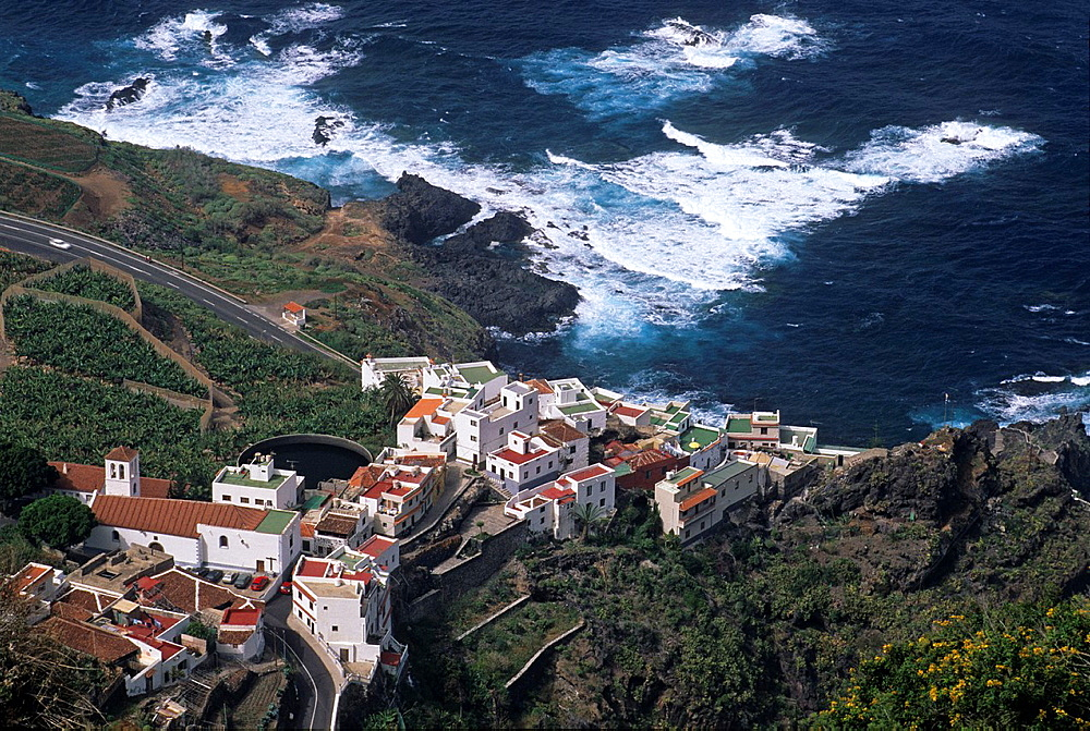 Garachico village, Tenerife, Canary Islands, Atlantic Ocean