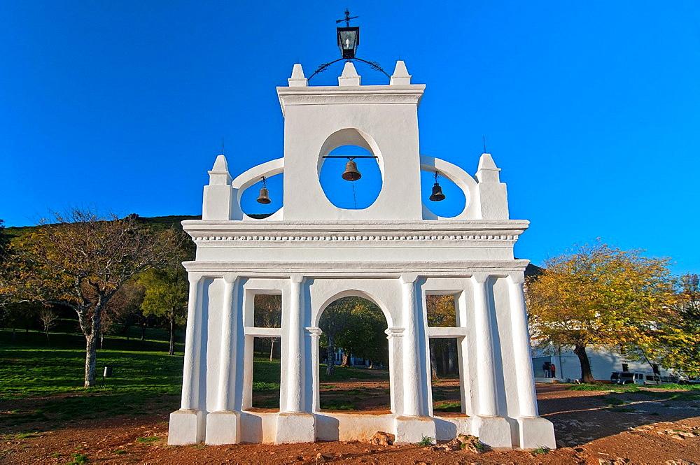 Bell gable, Arias Montano rock, Huelva, Spain