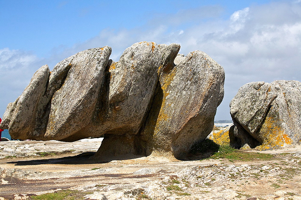 st guenole rocks, Finistere, Brittany, France