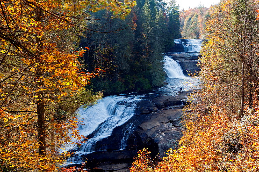 Triple Falls, DuPont State Forest, near Brevard, North Carolina USA