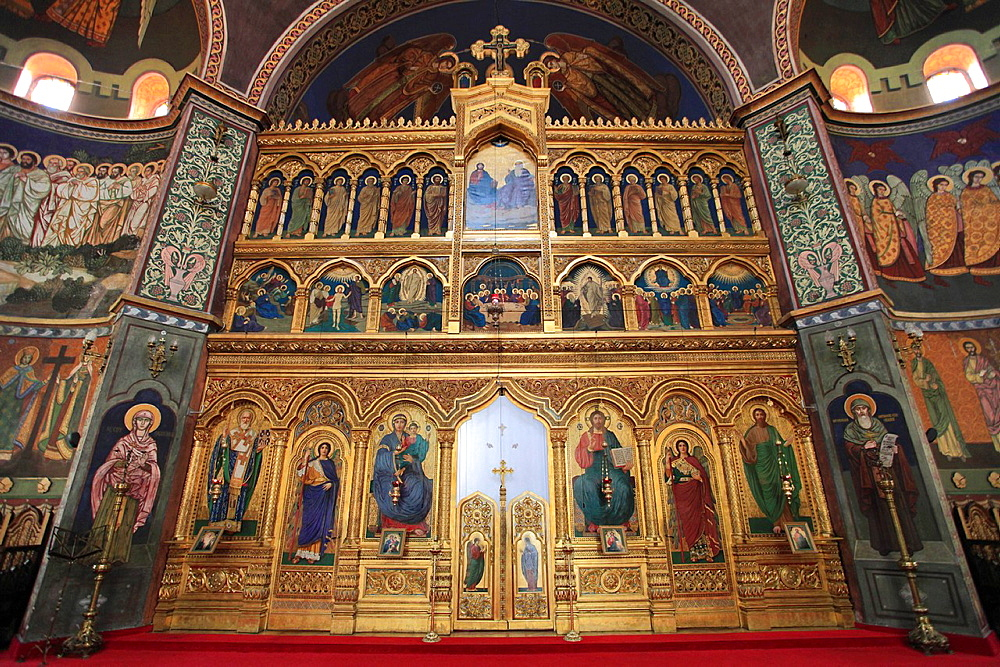 Romania, Sibiu, Metropolitan Cathedral, interior,  - 817-416867