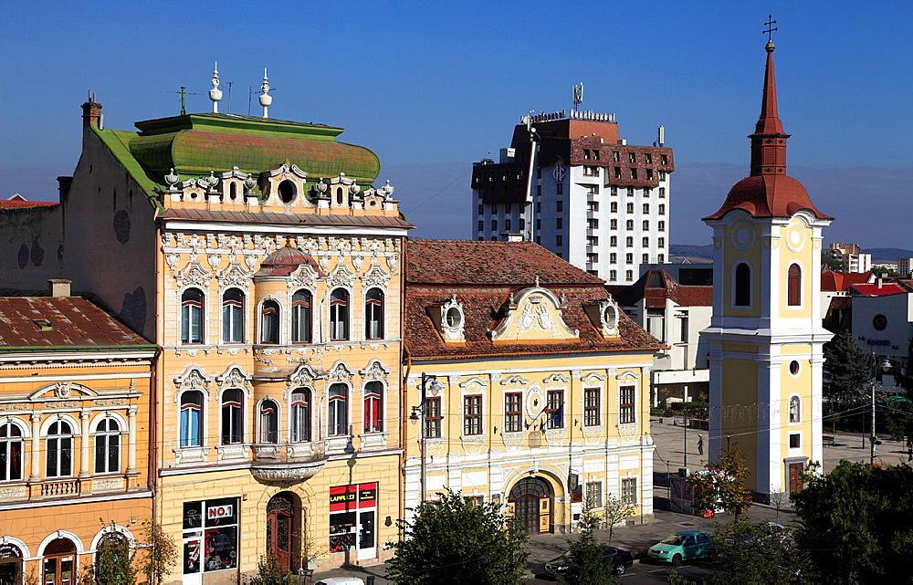 Romania, Targu Mures, Piata Trandafirilor,