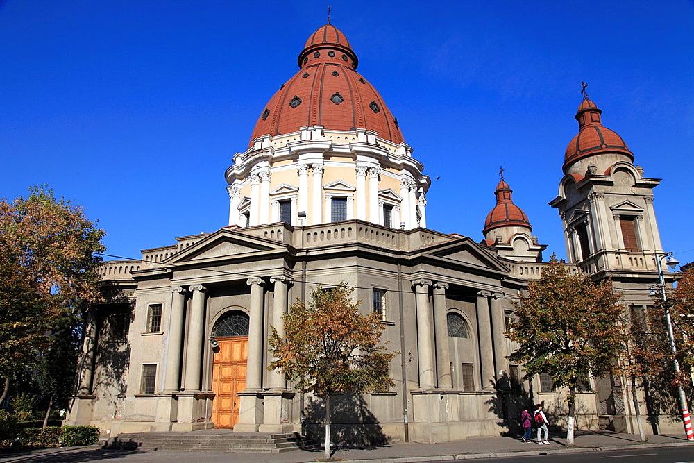 Romania, Targu Mures, Greco-Catholic Cathedral,