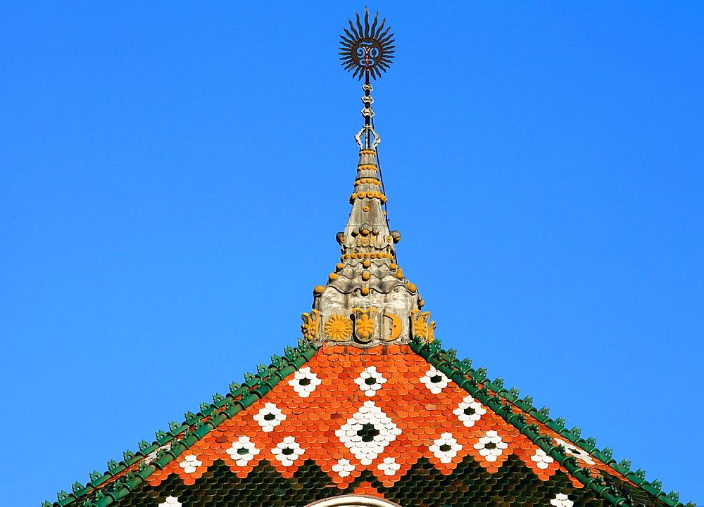 Romania, Targu Mures, County Council Building,