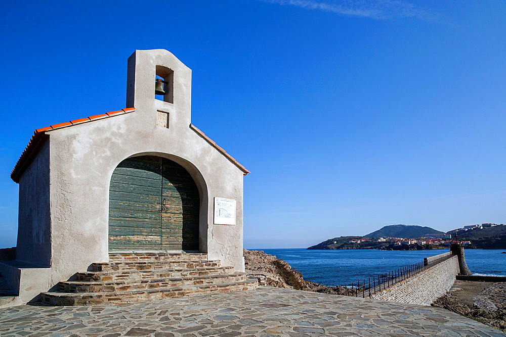 Collioure, Languedoc-Roussillon, France Chapel Saint Vincent