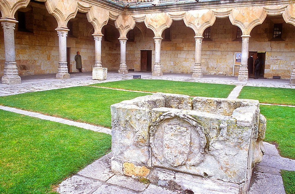 Escuelas Menores courtyard, University,Salamanca,Spain