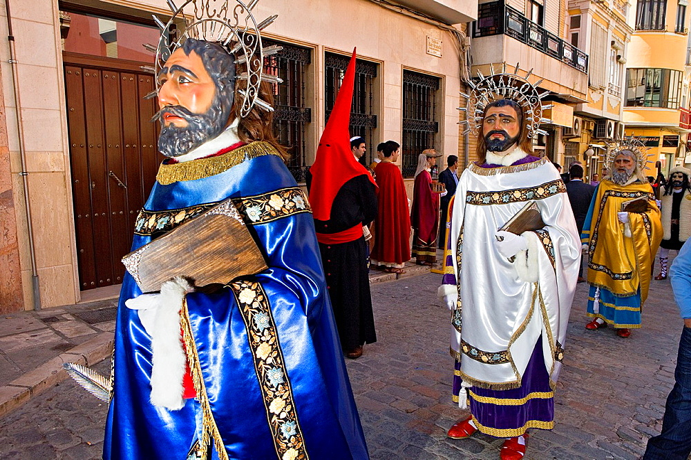`Figuras¥ Holy Week  Easter Sunday Puente Genil  Cordoba province  Spain
