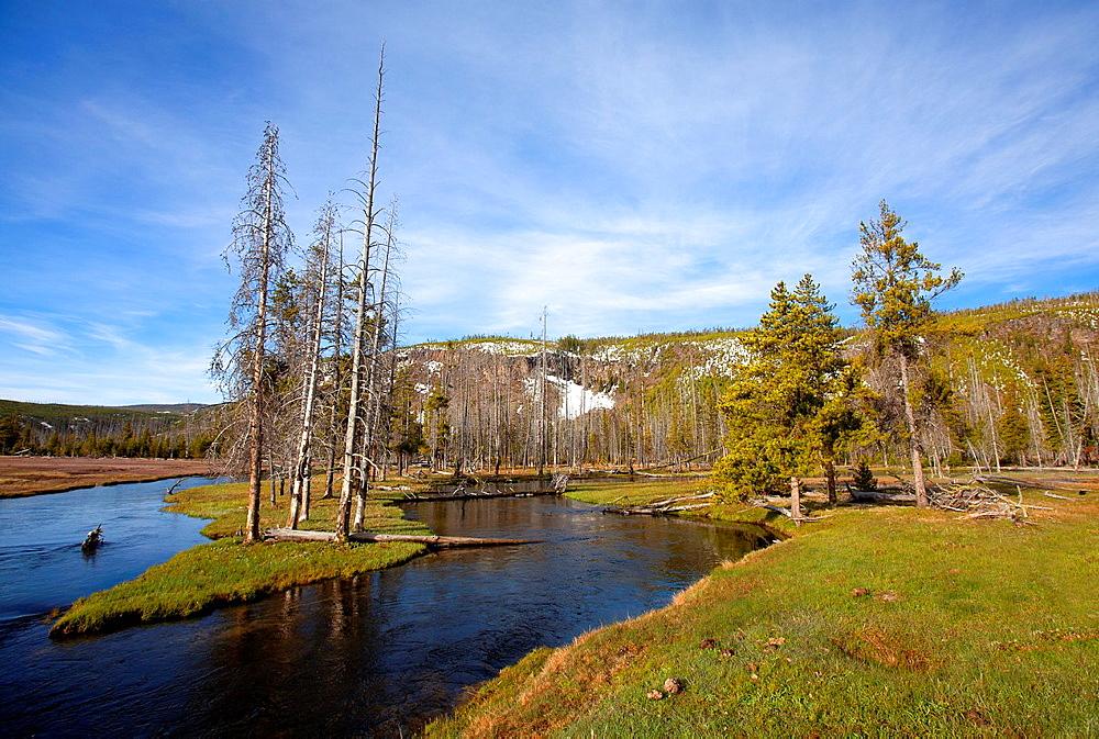 Garned River, Yellowstone National Park, Idaho, Montana and Wyoming, USA