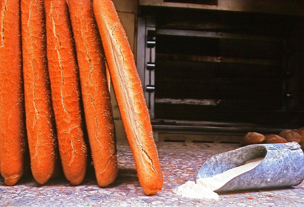 Freshly Baked Bread, Rethymnon, Crete, Greece