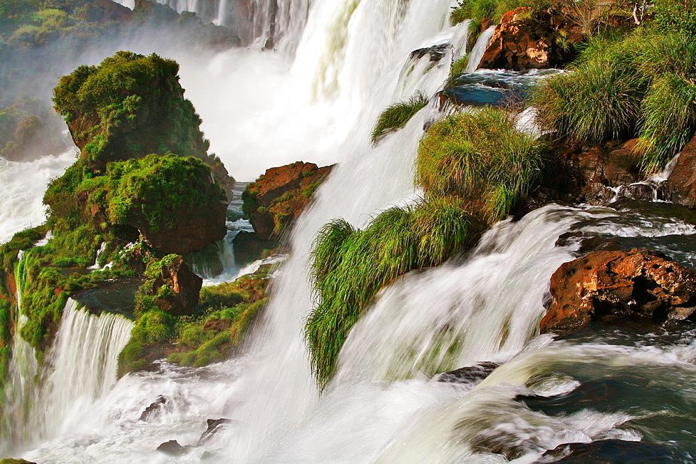 Iguacu Falls, Border of Brazil and Argentina