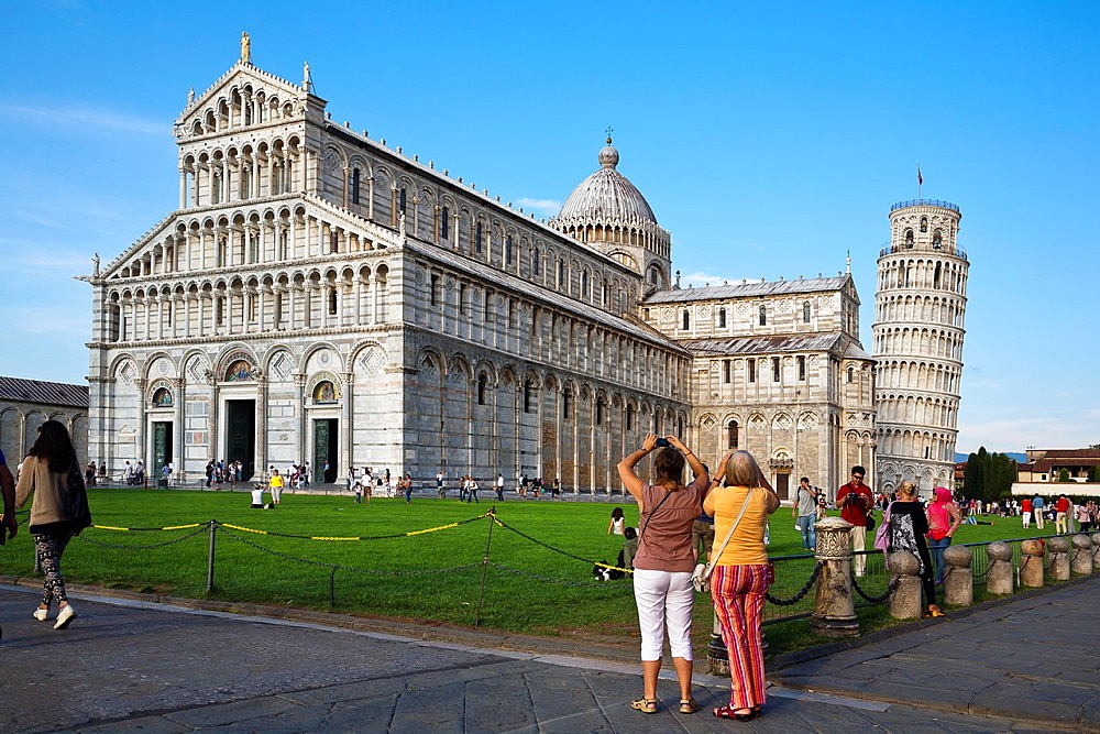 Pisa cathedral and tower Italy