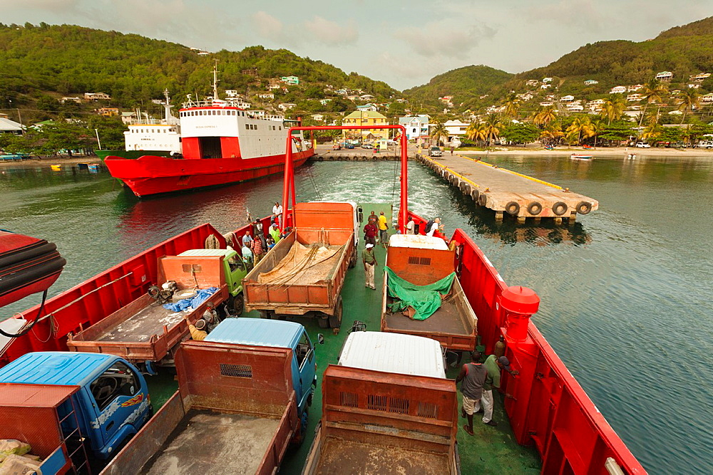 St Vincent and the Grenadines, Bequia, Port Elizabeth, aboard the Bequia Ferry