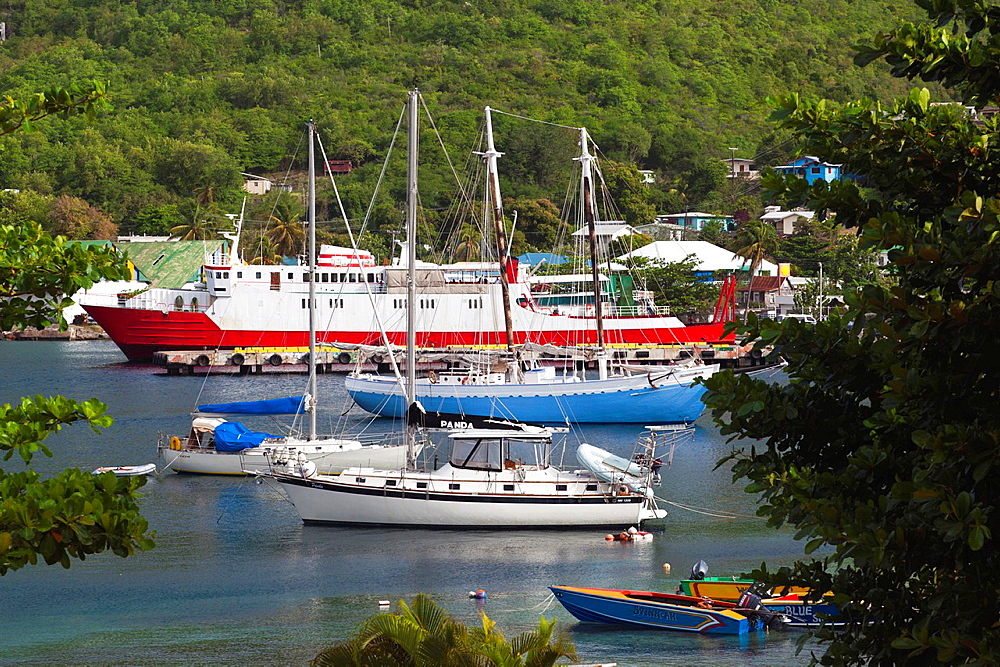 St Vincent and the Grenadines, Bequia, Port Elizabeth, Admiralty Bay