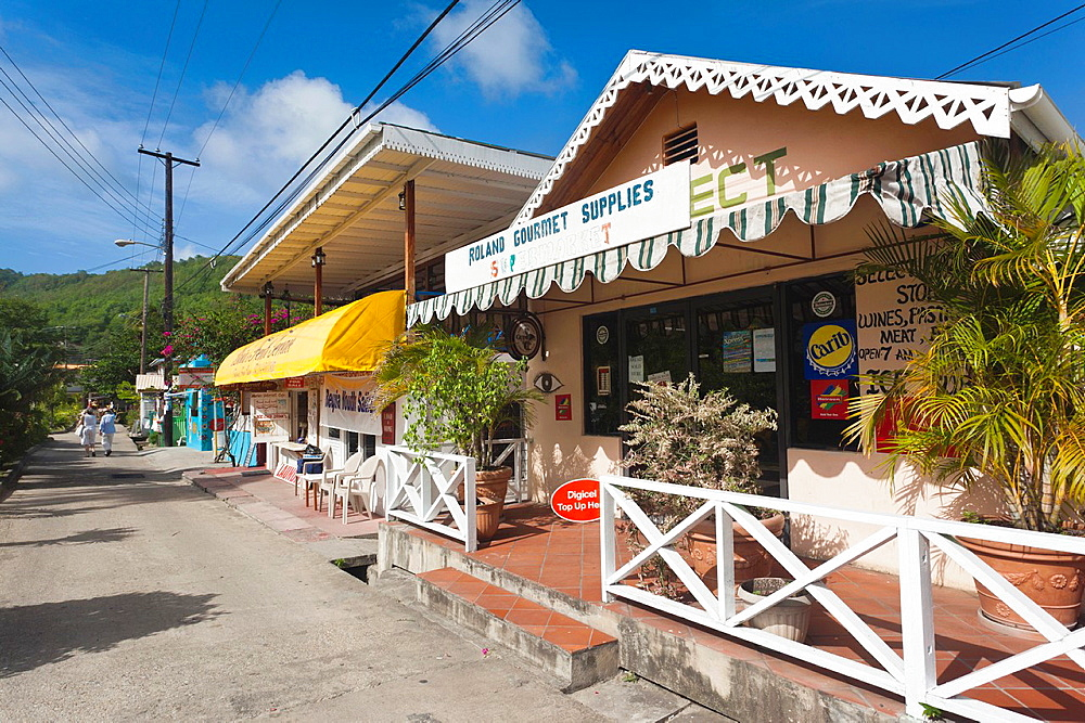 St Vincent and the Grenadines, Bequia, Port Elizabeth, shops