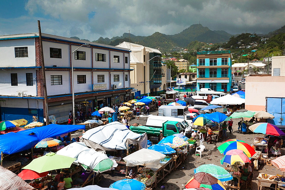 St Vincent and the Grenadines, St Vincent, Kingstown, Public Market