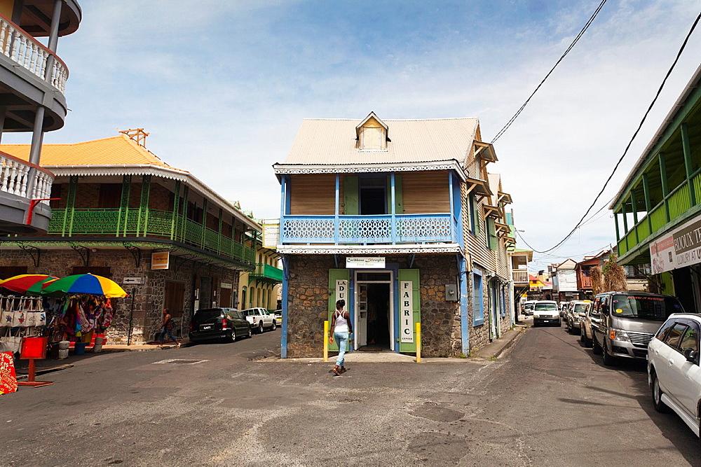Dominica, Roseau, Old Market