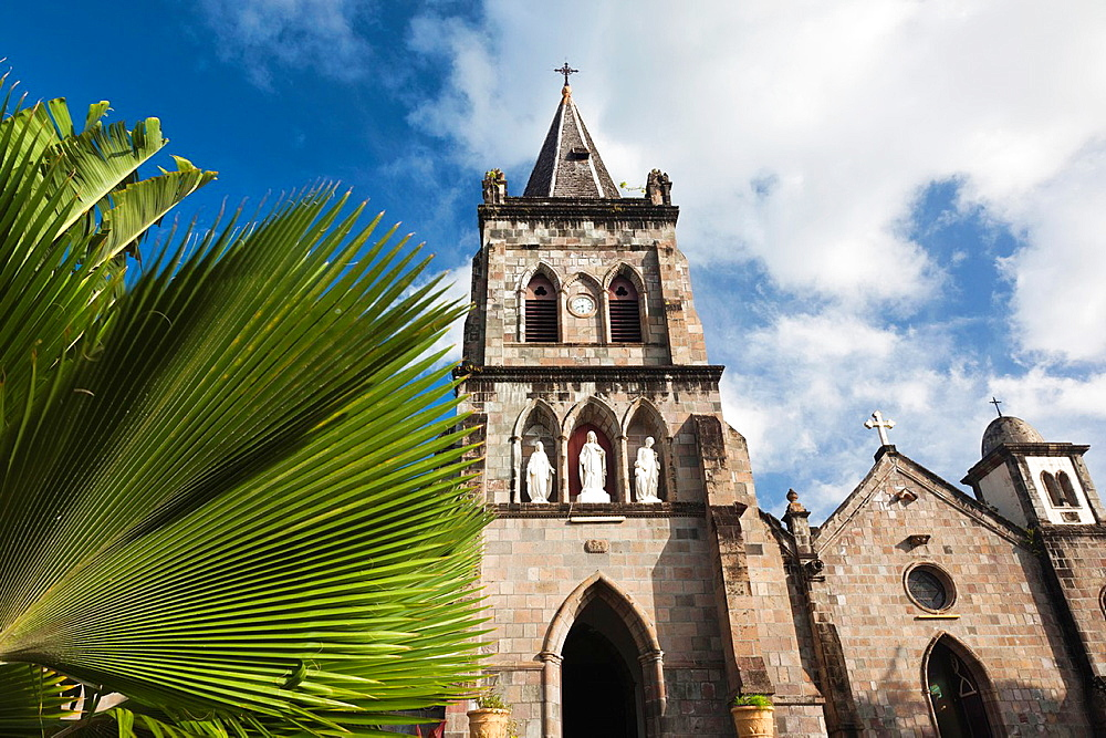 Dominica, Roseau, St Patricks Catholic Cathedral, exterior