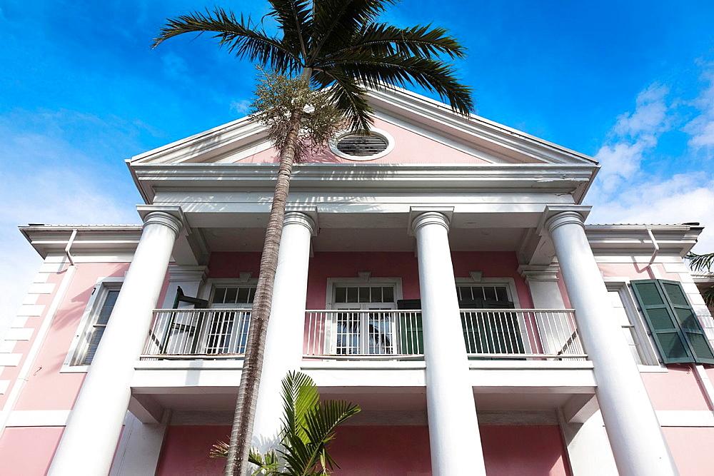 Bahamas, New Providence Island, Nassau, Parliament Square government building