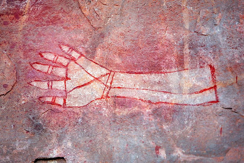 Aboriginal rock art site in Kakadu National Park, Northern Territory, Australia