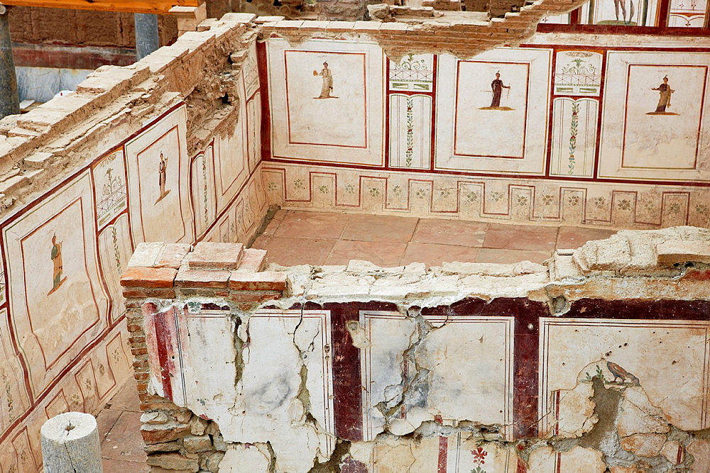 Interior of the Terrace Houses Ephesus Archaeological Sitee, Izmir province, Turkey