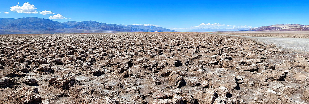The Devil's Golf Course in Death Valley NP, USA