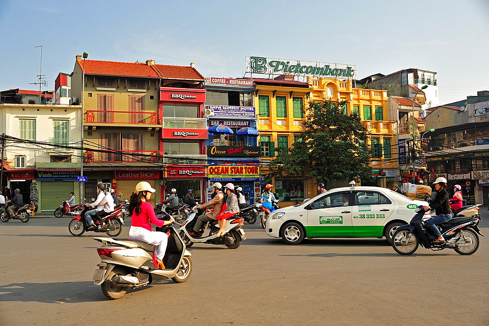 Hoan Kiem District Old Quarter, Hanoi, Vietnam