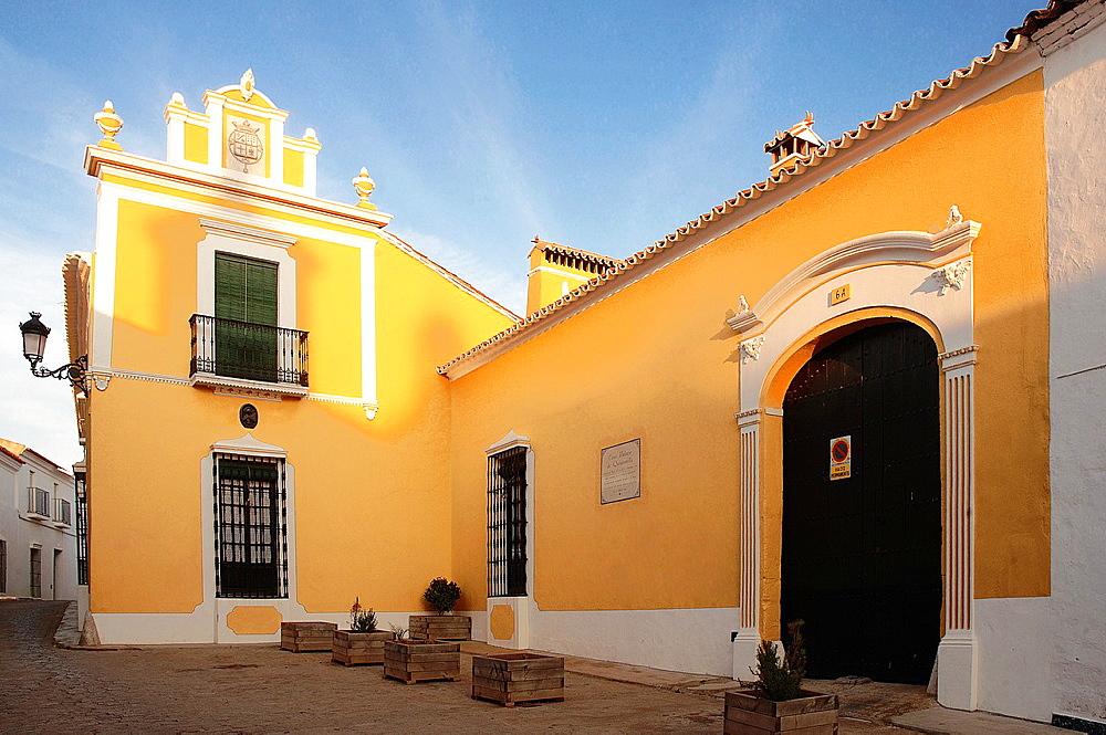 Quintanilla palace, Ribera del Fresno, Badajoz-province, Spain