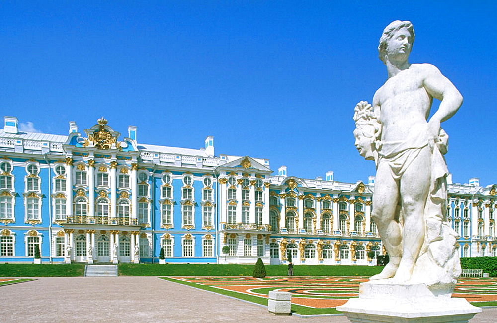 Catherine Palace, Pushkin (aka Tsarskoye Selo), St, Petersburg, Russia