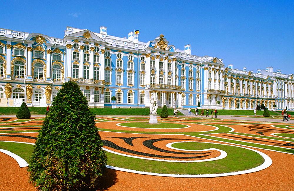 Catherine Palace, Pushkin (Tsarskoye Selo), St, Petersburg, Russia
