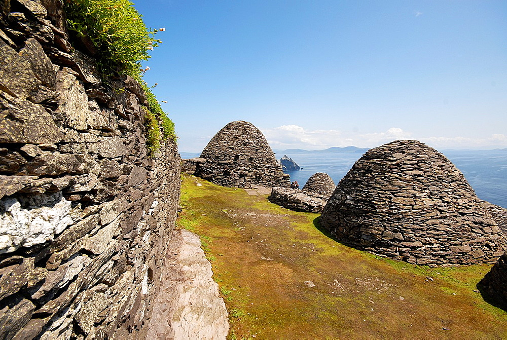 1000 years old remains from monastery so called ¥beehives¥ at Skellig Michael, Irelan