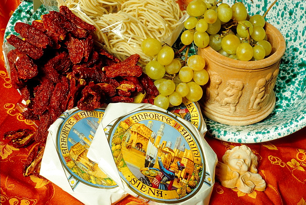 products of Tuscany, Italy, Europe