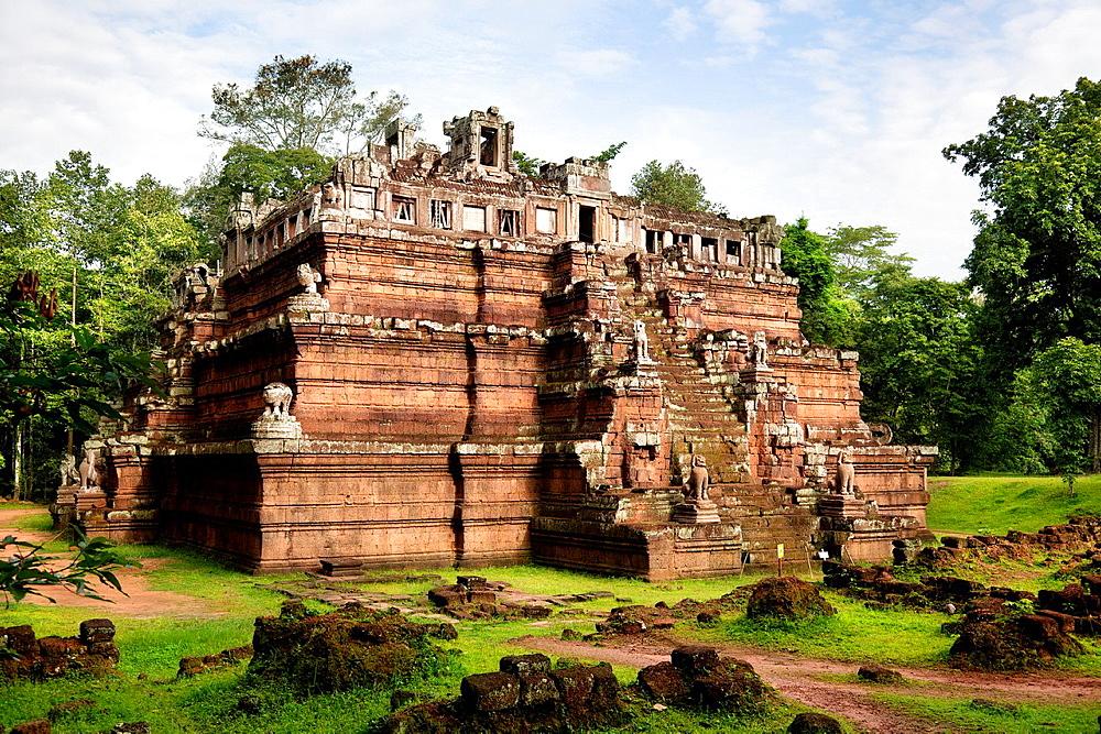Ruins of Angkor in Cambodia