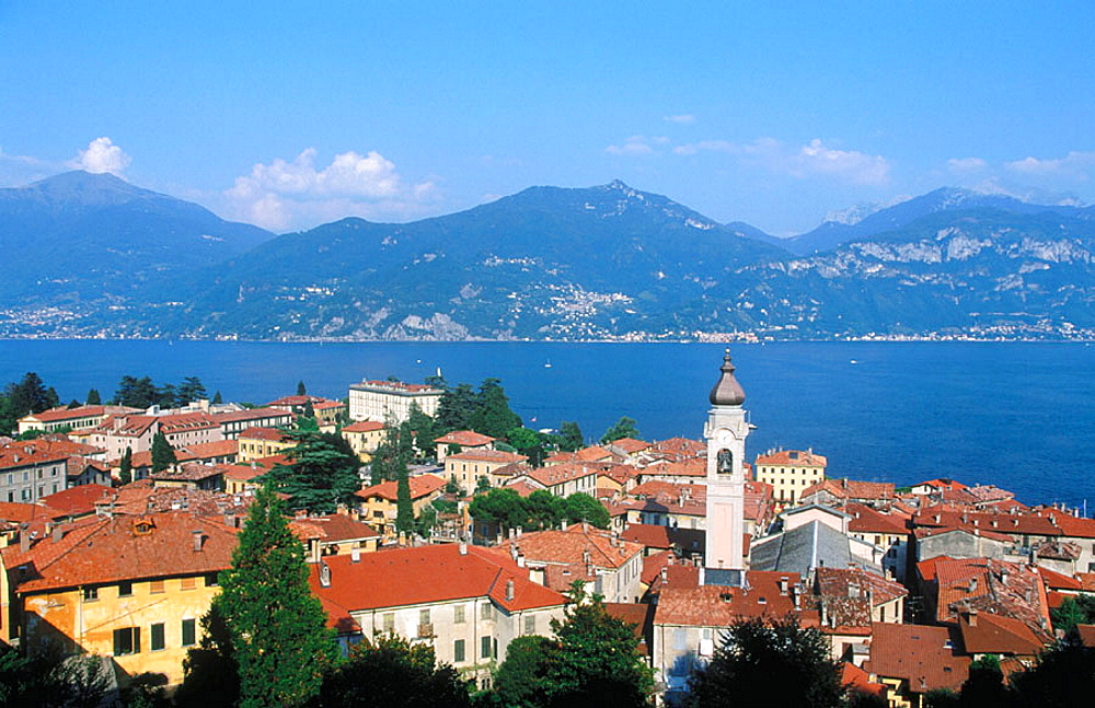 Menaggio with Lake Como at the background, Lombardy, Italy