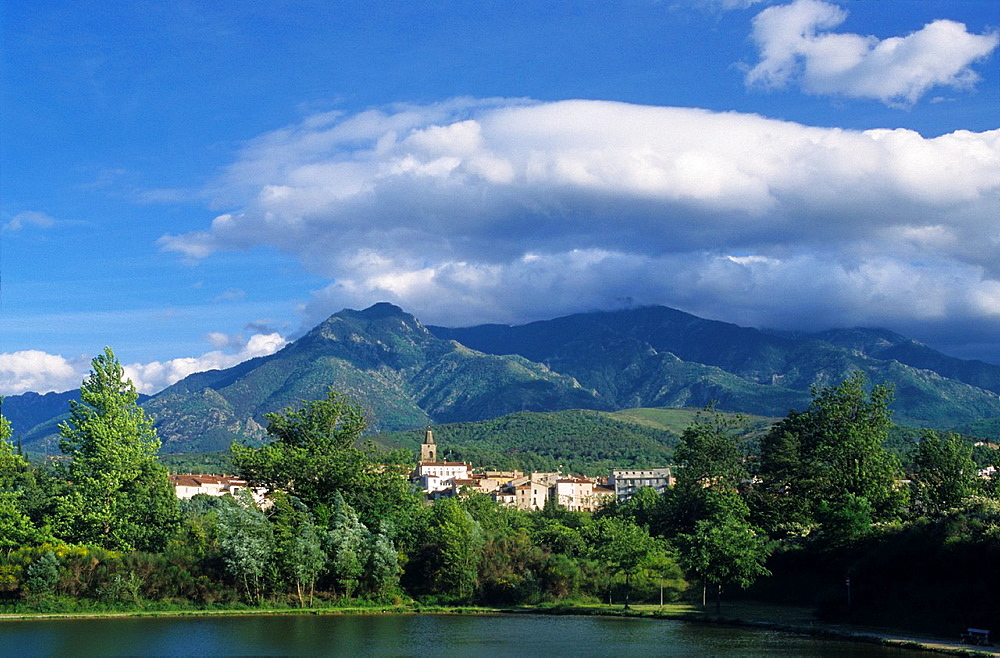 Prades, Eastern Pyrenees, Languedoc-Rousillon, France