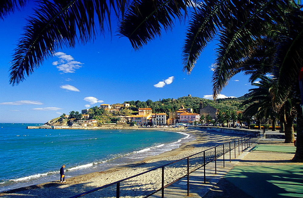 Colliourer's bay, Eastern Pyrenees, Languedoc-Rousillon France