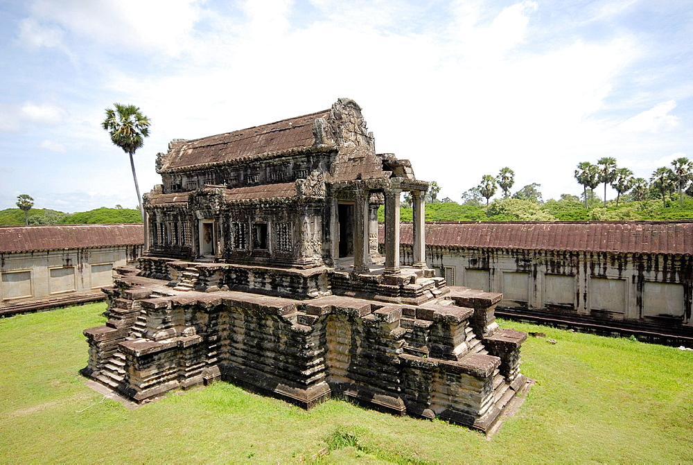 central temple at Angkor Wat, Cambodia