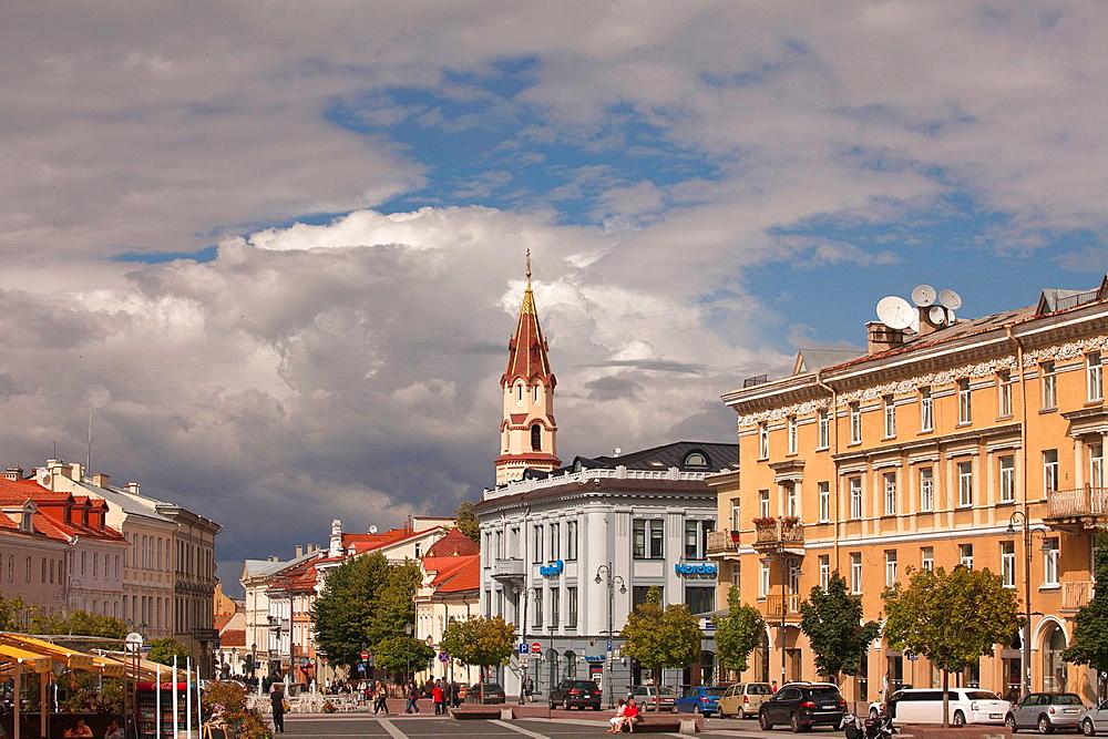 Vilnius  The Town Hall Square