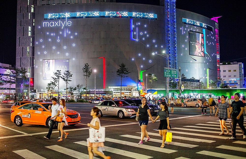 Dongdaemun design plaza, in Dongdaemun district, Seoul, South Korea