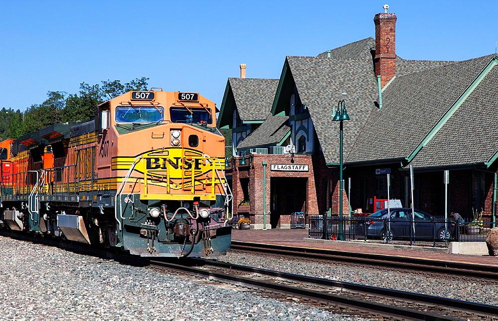 Flagstaff Train Station, Arizona, USA