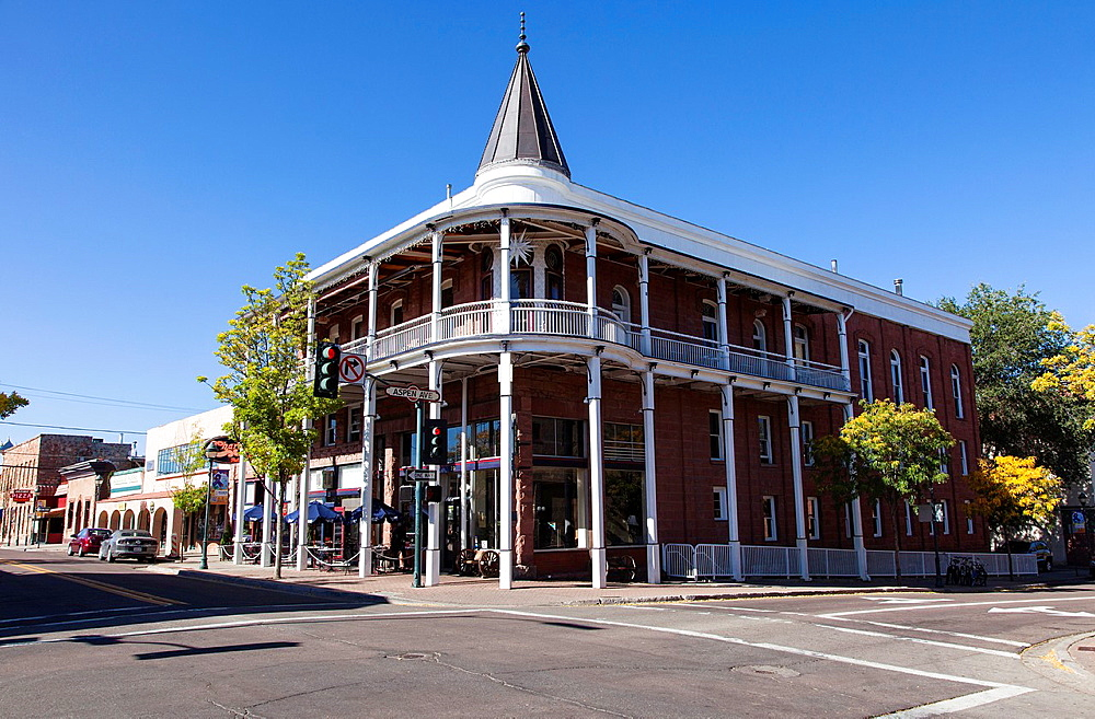 Downtown Flagstaff, Arizona, USA