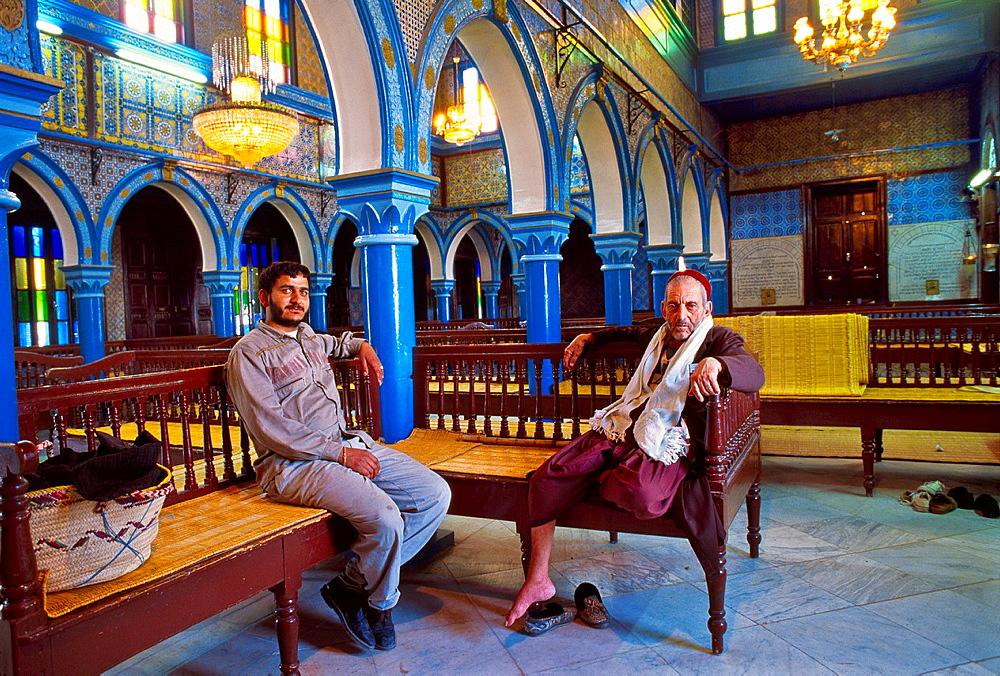 Griba Synagogue Djerba island Southern Tunisia.