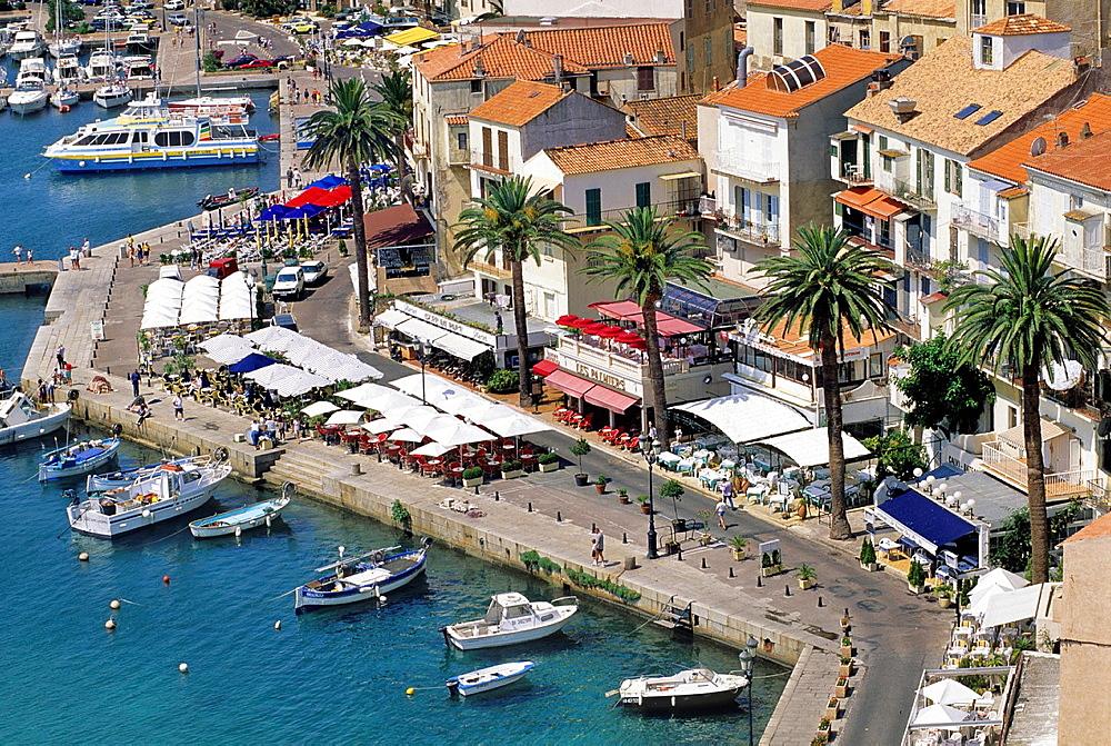 France, Corsica, Haute-Corse, Calvi, The Harbour