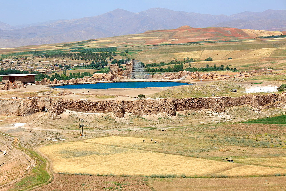 View of Takht-e Soleyman, Iran