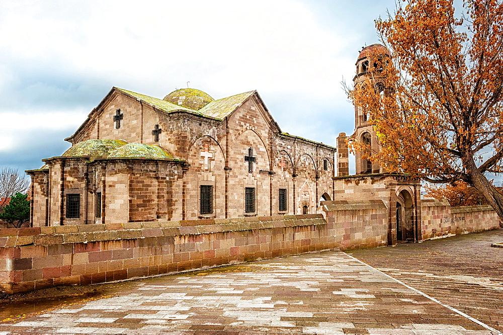 Derinkuyu Orthodox Church, also known as Saint Theodoros Trion Church, Cappadocia, Turkey