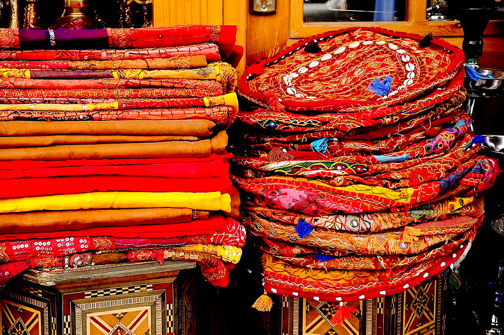 Souvenir shop in center Amman, Jordan, Middle East.